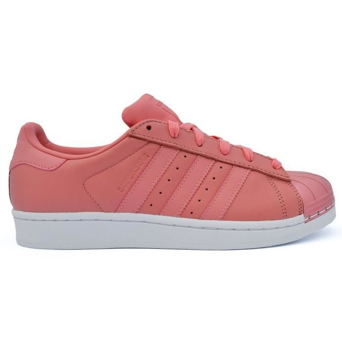 140b74a047b91f Chaussures Adidas Superstar Metal Toe W Rose Rose - Achat   Vente ...
