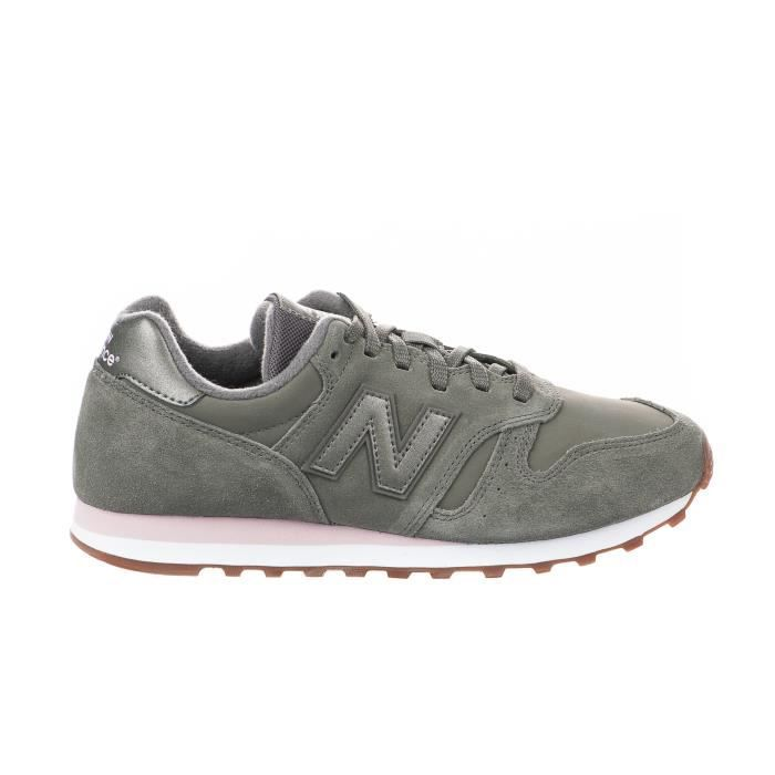 new balance fille rose