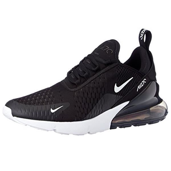 detailed pictures d5a34 099d6 Nike Air Max 270 Chaussures Hommes Casual Noir Blanc