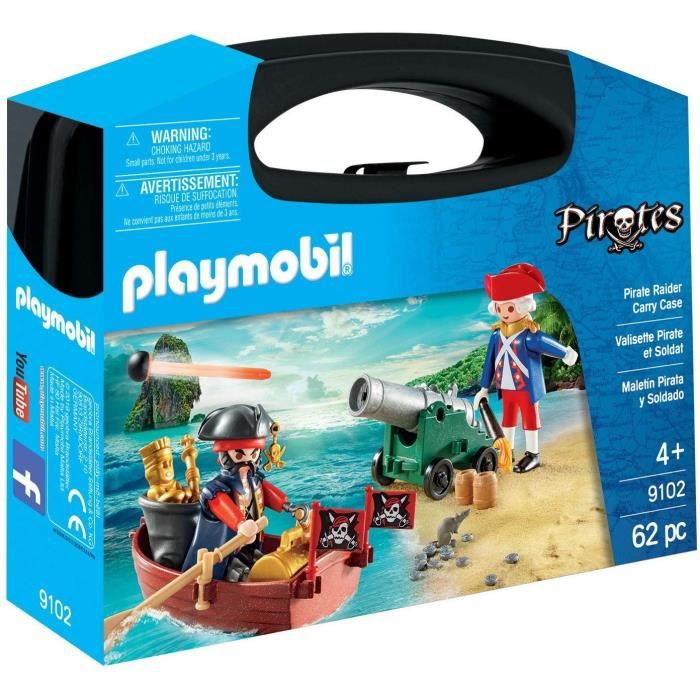 UNIVERS MINIATURE PLAYMOBIL 9102 - Valisette Pirate et Soldat, Autre