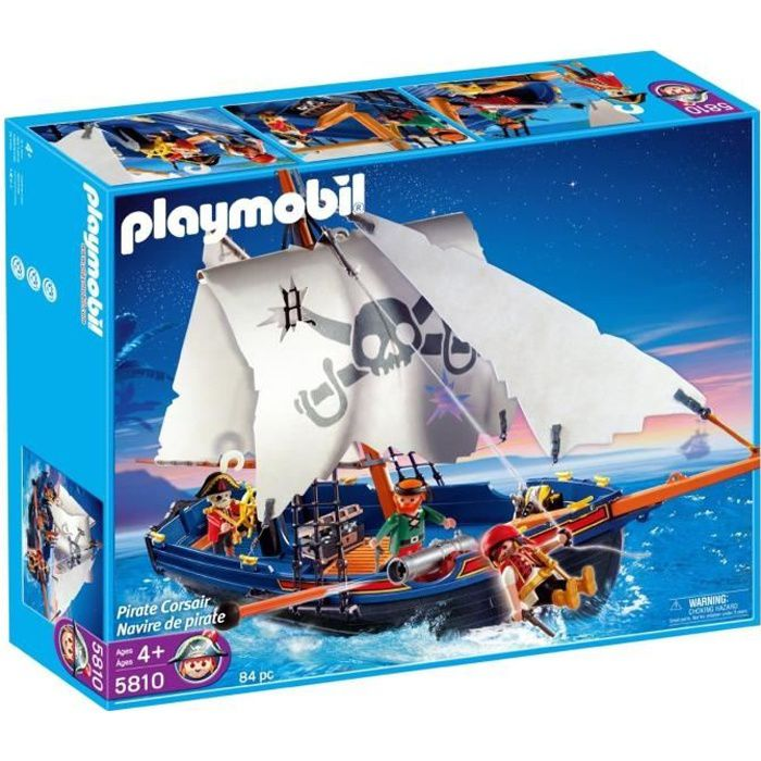 playmobil 5810 bateau de pirates achat vente bateau sous marin cdiscount. Black Bedroom Furniture Sets. Home Design Ideas