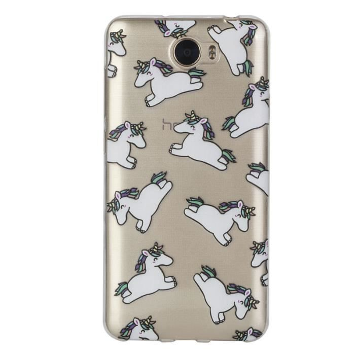 coque licorne pour huawei y5ii
