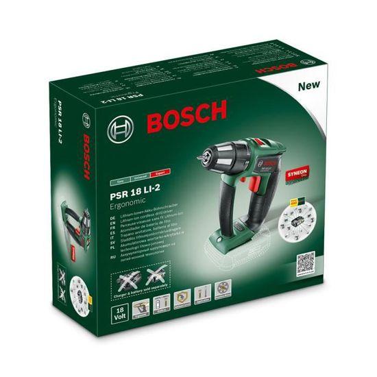 Technologie Syneon Bosch PSB 10,8 LI-2 Perceuse-Visseuse /à Percussion sans Fil Outil Seul sans Batterie