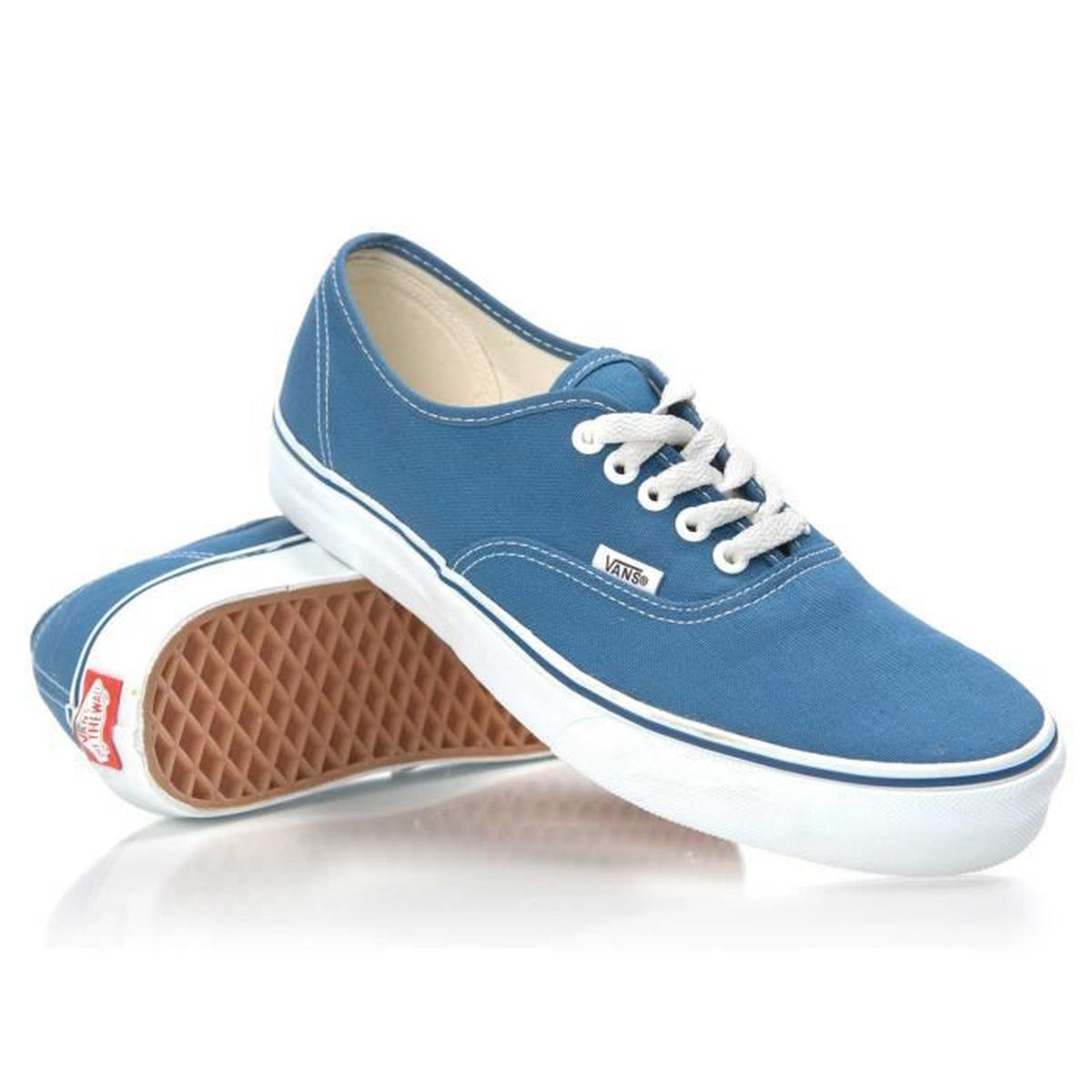 BASKET Chaussure Basse VANS Authentic Navy Homme Pointure