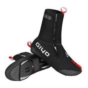VGEBY1 1 Paire de Chaussures de Bicyclette Couvre-Chaussures de Bicyclette Thermique Coupe-Vent en Laine Polaire Coupe-Vent
