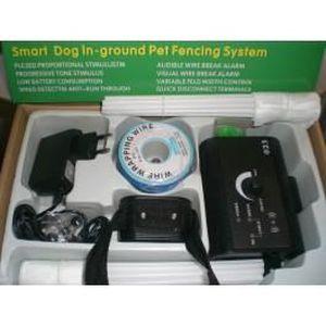 ANTI-FUGUE - CLOTURE kit systeme cloture anti fugue pour chien+bobin…