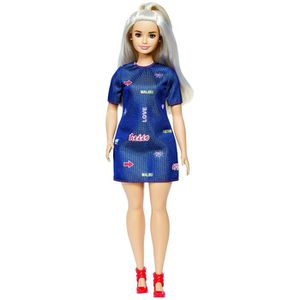 POUPÉE Barbie Fashionistas Doll 63 Platinum Pop