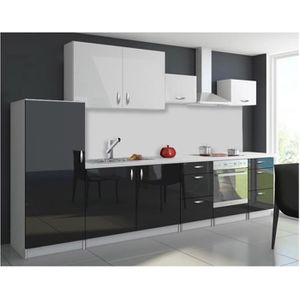 porte cuisine noir laque achat vente pas cher. Black Bedroom Furniture Sets. Home Design Ideas