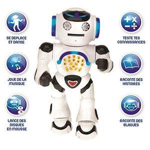 DVD INTÉRACTIF LEXIBOOK Powerman - Robot éducatif interactif pour