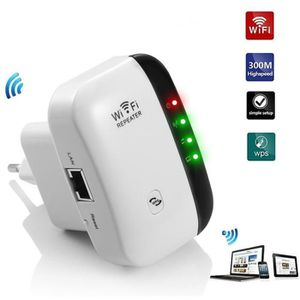 POINT D'ACCÈS Répéteur sans fil Mini Routeur 300M Wireless Inter