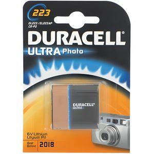 PILES Pile lithium Duracell 6v cr-p2 ultra -Blister de 1