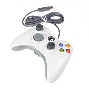 MANETTE JEUX VIDÉO 2 x Manette de jeu filaire Microsoft Xbox Compatib