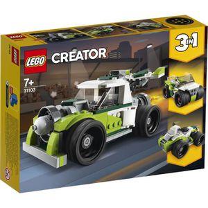 ASSEMBLAGE CONSTRUCTION LEGO® Creator 31103 - Le camion de fusée