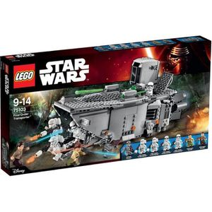 ASSEMBLAGE CONSTRUCTION LEGO® Star Wars 75103 First Order Transporter™