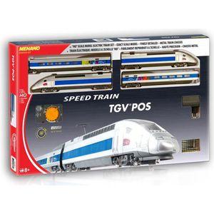 CIRCUIT MEHANO Coffret de train TGV POS - Circuit électriq