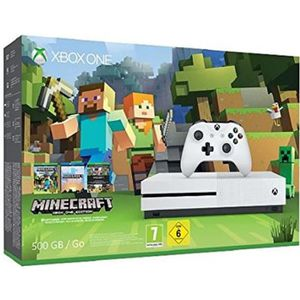 CONSOLE XBOX ONE Pack Xbox One S 500Go Minecraft