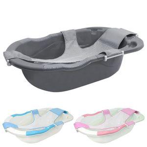 BAIGNOIRE  Baignoire bébé évolutive avec hamac de bain - Gris