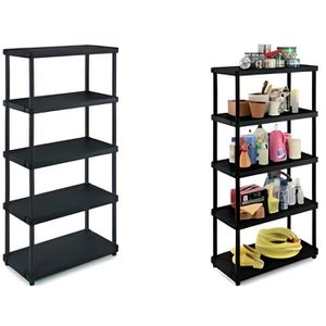 etagere plastique achat vente etagere plastique pas cher cdiscount. Black Bedroom Furniture Sets. Home Design Ideas