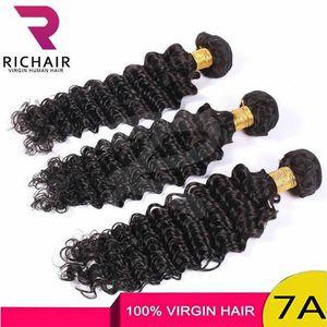 PERRUQUE - POSTICHE RICHAIR 3 Tissages Brésilien Cheveux Deep curly Ex