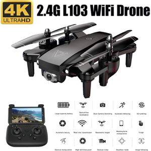 DRONE L103 2.4G 4CH RC Drone Caméra GPS 4 Axes Flux Opti