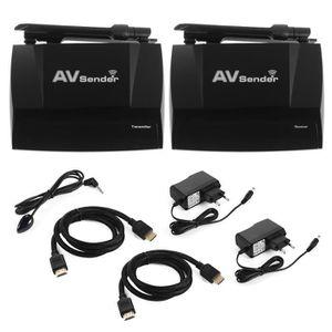 Récepteur audio HDMI Extender 2.4G / 5G Dual Band Expéditeur AV Tr