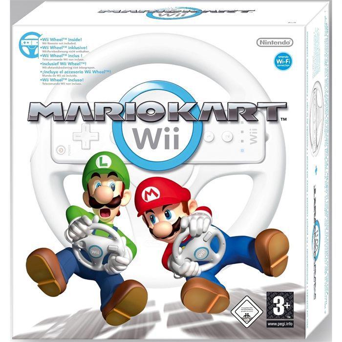 MARIO KART Wii (volant inclus) / JEU ET ACCESSOIRE