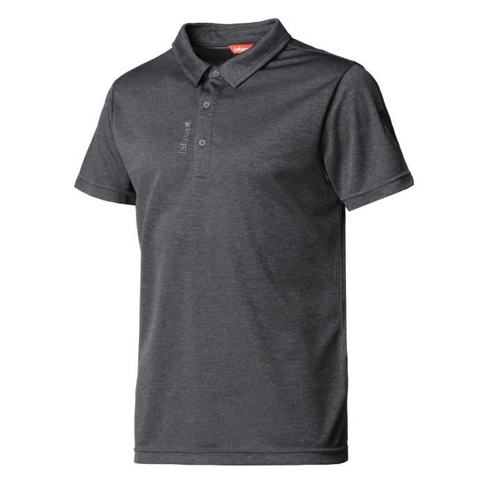 LAFUMA Polo Shift - Homme - Gris anthracite