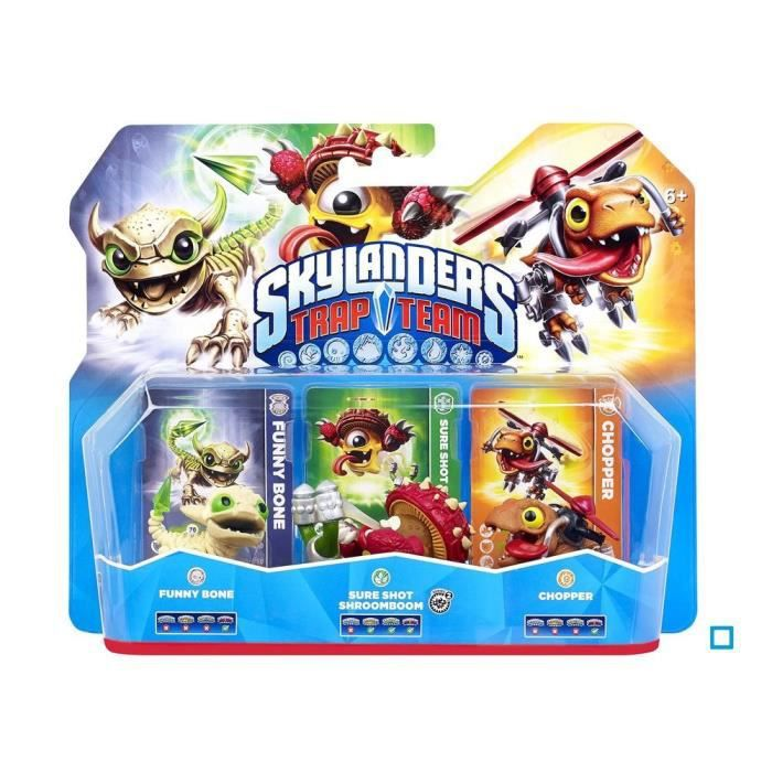 jeux pc video console r figurines skylanders trap team ps