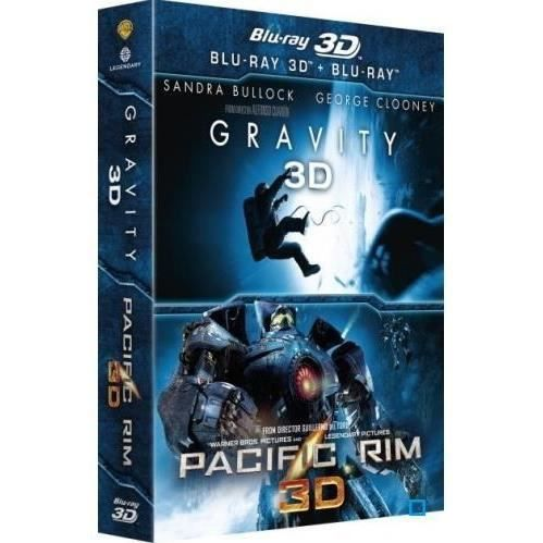 dvd coffrets et blu ray coffret d gravity pacific rim f