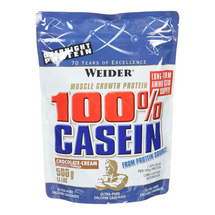 WEIDER Sachet de Day & Night Casein Choco 500g