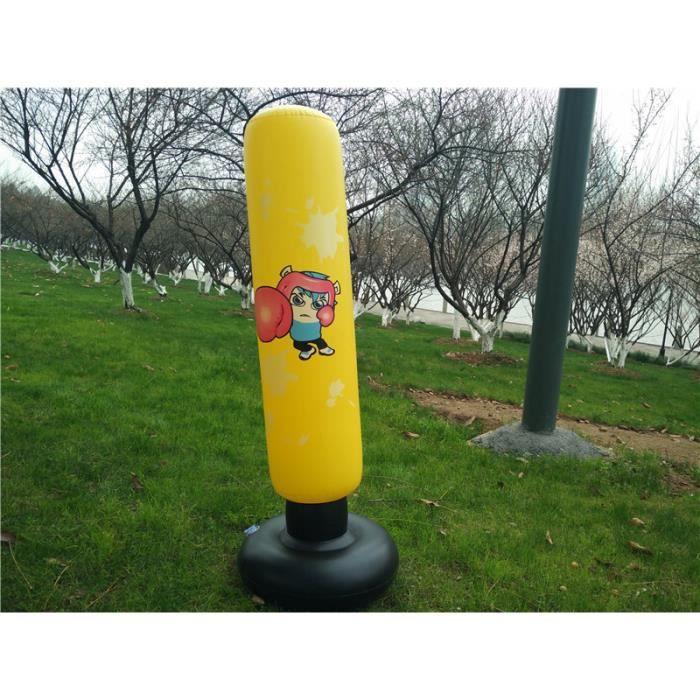 120cm gonflable boxe culbuteur formation fitness boxe colonne d'eau suspendue Kick combat sac punching Airbag