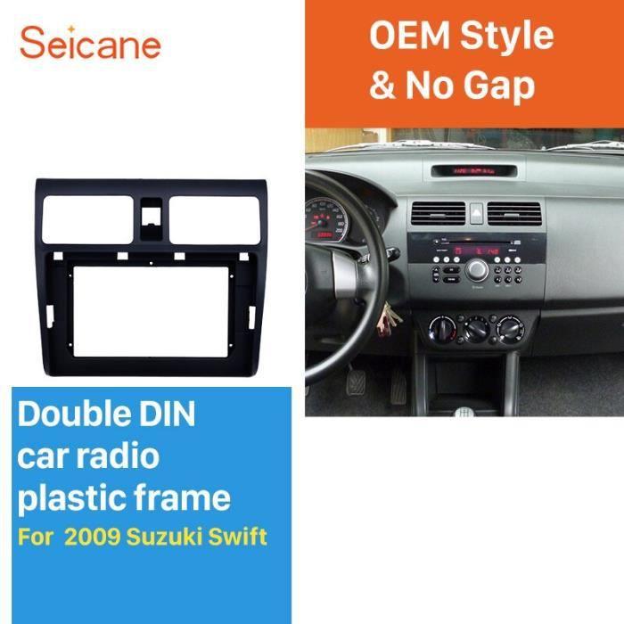 Double 2 Din 10.1 pouces Autoradio Cadre Fascia pour 2009 SUZUKI SWIFT Dash Mount DVD Automatique de Cadre Adaptateur [3529DB0]