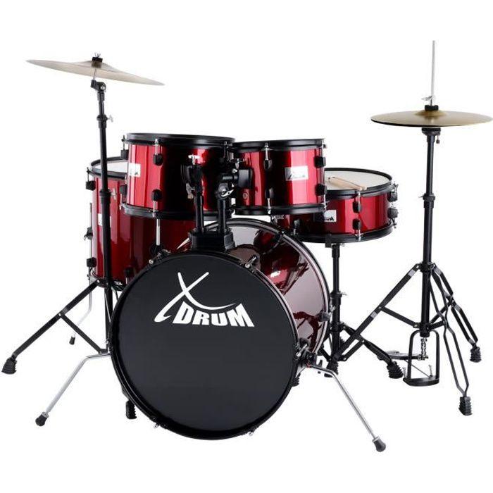 XDrum Rookie 20- Studio Set de Batterie complet…