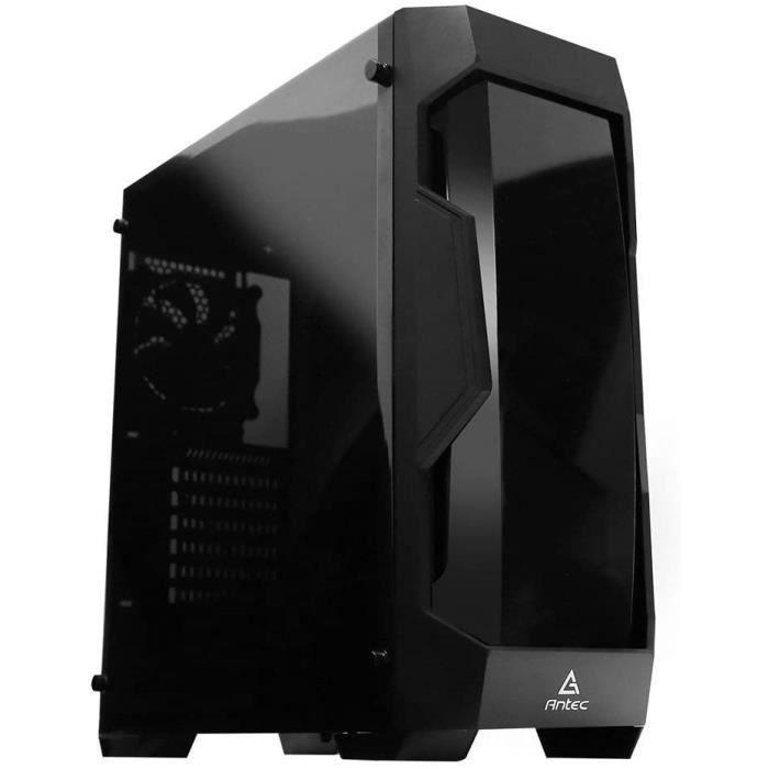 Solutions de stockage externes Antec DF500 Moyenne Tour, ATX-Micro-ATX-Mini-ITX, Panneau latéral Transparent, sans alim, 98070