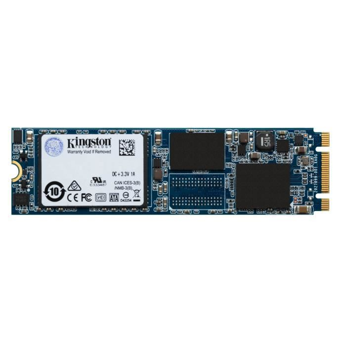 KINGSTON Mémoire PC 480Go SSD - UV500 M.2