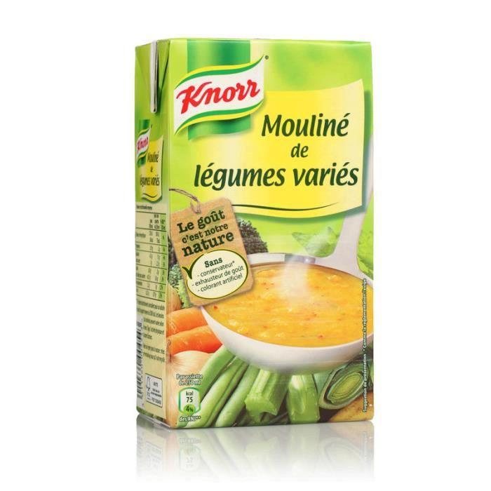 KNORR Soupe mouliné légumes variés 1l