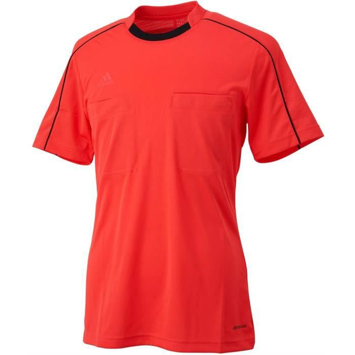 Maillot Arbitre football Adidas Homme Rouge Refere