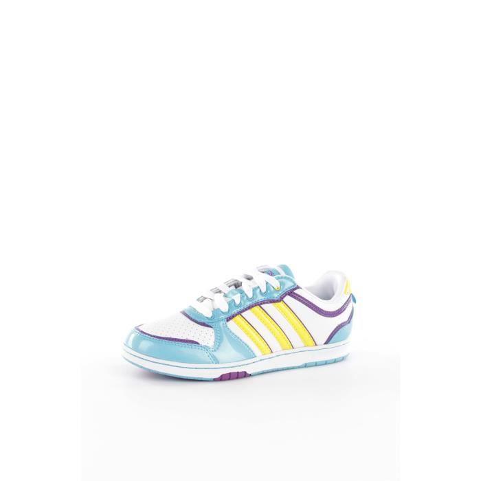 Adidas U45105 chaussures de tennis faible Femme BLANC
