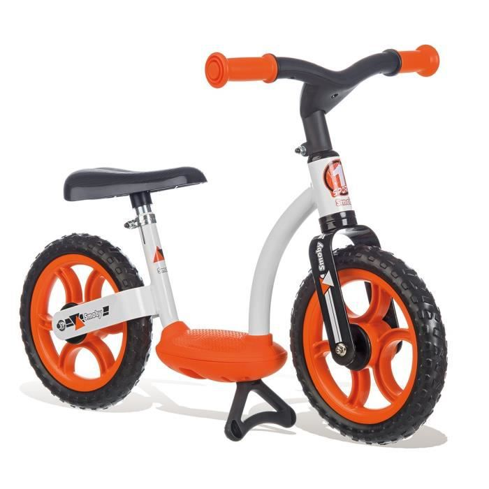 SMOBY Draisienne Confort Roues Silencieuses Orange