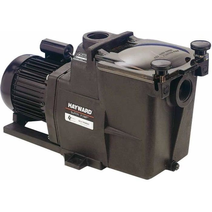 HAYWARD SUPER PUMP Pompe TRI 1 cv, 2\