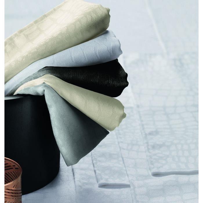 Nappe polyester Lounge Noir 180x240 ovale - Tradilinge