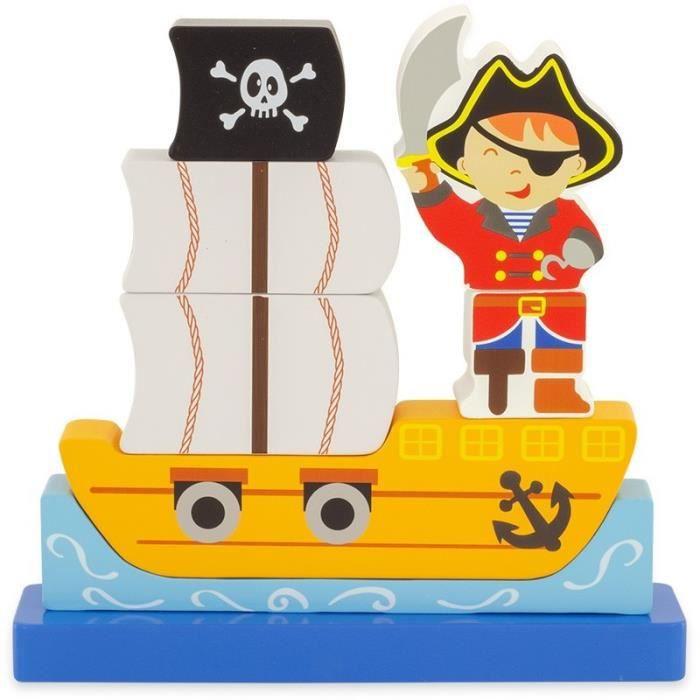 Ulysse Couleurs d'Enfance - Puzzle Magnet Pirate