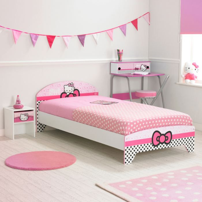 grand lit hello kitty achat vente ensemble literie. Black Bedroom Furniture Sets. Home Design Ideas