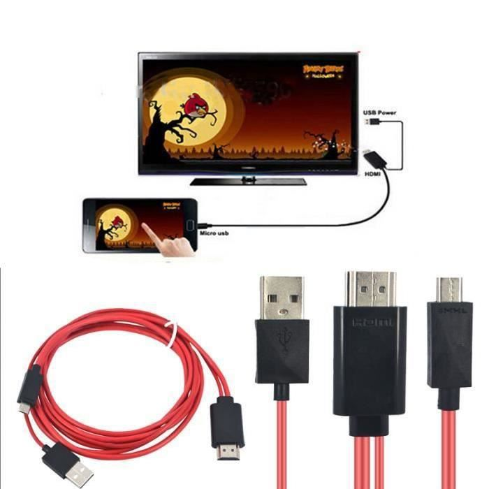 cable hdmi iphone achat vente cable hdmi iphone pas cher cdiscount. Black Bedroom Furniture Sets. Home Design Ideas