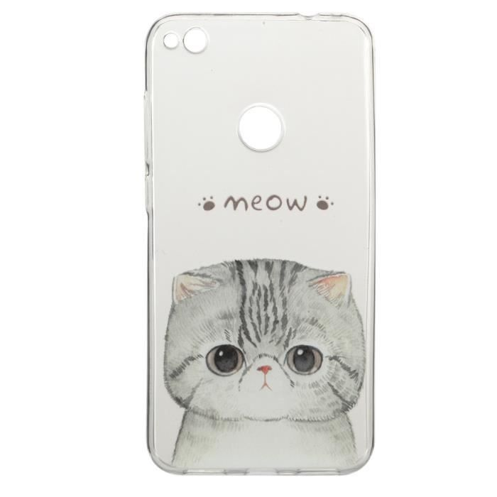 huawei p8 lite coque chat