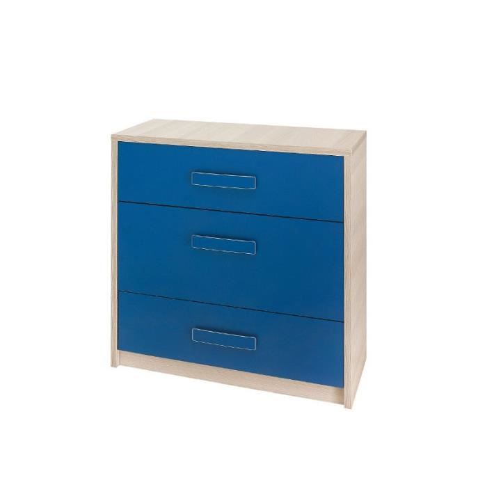 justhome bregi br vi commode bleu 80 x 80 x 40 cm achat. Black Bedroom Furniture Sets. Home Design Ideas