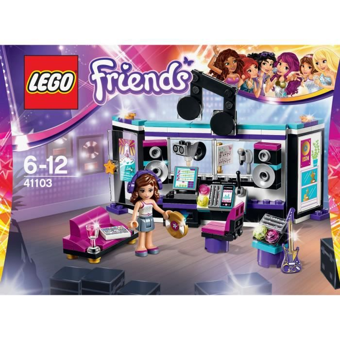 Friends Star Lego Studio Le Pop 41103 D'enregistrement UVpSzMq