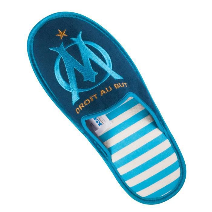 Chaussons OM - Collection officielle Olympique de MARSEILLE 0p12X56wlA