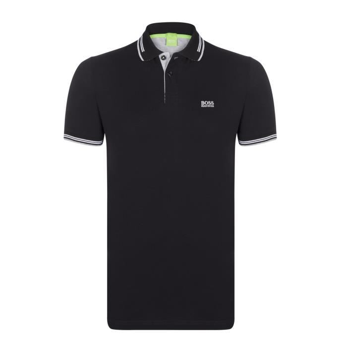 POLO Hugo Boss Homme Polo Slim Fit Noir