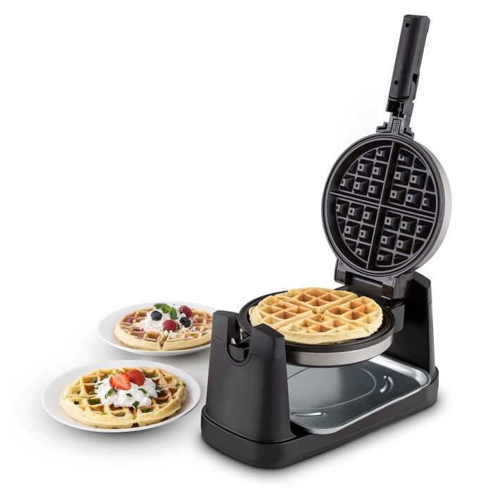 oneconcept waffelmaster appareil gaufre 1000w 17 cm. Black Bedroom Furniture Sets. Home Design Ideas